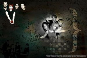 Paramore Wallpaper. by Dark-Flame-Babee