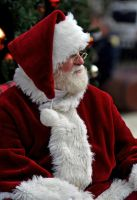 Santa in thought by ericthom57