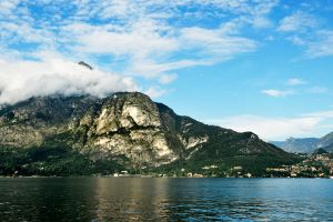 Clouds over Lake Como 1 by wildplaces