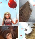 99 Red Balloons Details by Risachantag