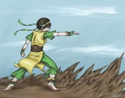 .:EarthBender:. by Totalrandomness