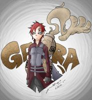 UltimateGaara by G-Chris