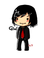Gerard Way Chibi by Haku-Ellie