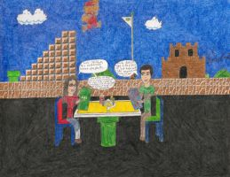 Amy takes Sheldon out to Dinner by daisyplayer1