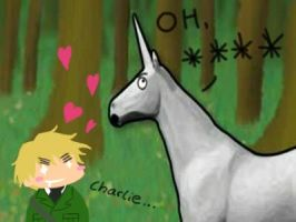 Hetalia: Charlie and Arthur by GemDragon421