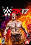 real WWE 2K17 cover by leonrock84