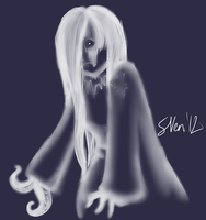 Monster Girl Challenge Day 16: Ghost by Opals-landing
