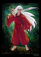 Inuyasha Color by timmok