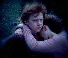Ron and hermione love by ElienxXxKitty