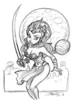 Dejah Thoris_ Take 1 by tombancroft