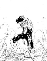 Invincible Artwork inks by Raikoh101