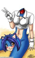 A Good Head on Her Shoulders? by gameboysage