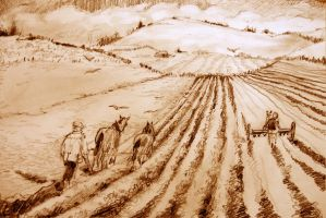 We plough the fields...3 by mr-macd