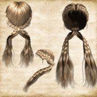 Hair Pack 14 by Just-A-Little-Knotty