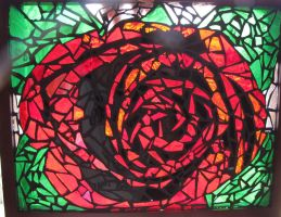 Rose Mosaic by corvettegal06