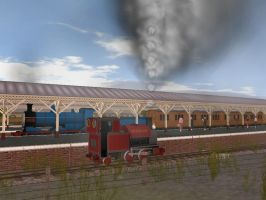 A Scene straight out from the Railway Series? by Nictrain123