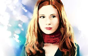 Amy Pond by Chibionpu