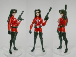 Crimson Guard Baroness Custom Figure by GeekVarietyDotCom