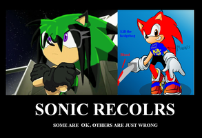 Demotivational  Sonic recolors by jumpstartautobot