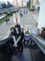 Homestuck stairs by psykodelicGirl