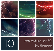 Icon Texture Set Five. by flamora