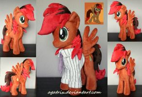 OC Wildfire plush by agatrix