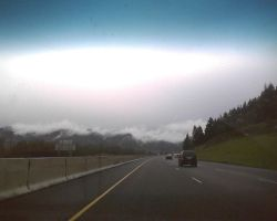 Driving into the Cloud Fog by WhiteRoseMarie