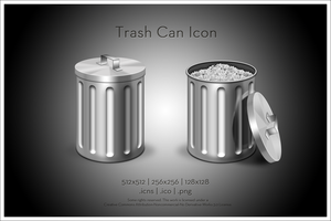 Woofie Trash Can Icon