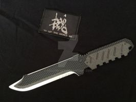 Metal gear solid 4 Knife home made v3 finished by Gollum-net