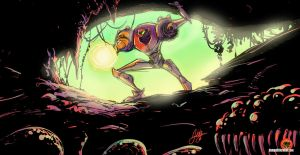 Samus Explores: Colours by AbigailRyder