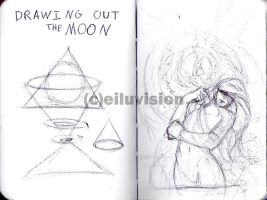 Drawing Out the Moon by Eiluvision