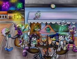 Comm: Celebration in Spagonia by Jade-the-Tiger
