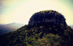 The Pinnacle at Pilot Mountain_Color by drrckmtthws