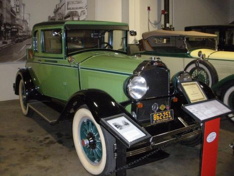 1928 Willys-Knight Coupe by rlkitterman