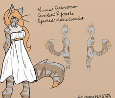 Orinoco Ref Sheet CM for manaphy6083 by FoodStamps1