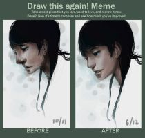 draw this again meme by green-sketch