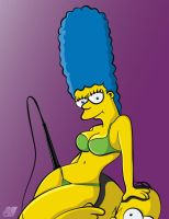 Marge Simpson by GovectorZ