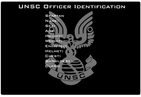 UNSC ID Card Template by EX388