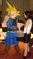 Polygon Cloud and Tifa by Chaosgamer137