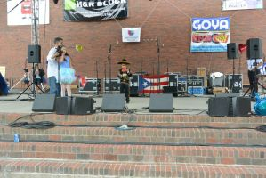 Puerto Rican/Latin Fest,Small But Mighty Voice by Miss-Tbones