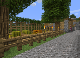 Village Update - Auto Pumpkin and Watermelon Farm by DPrime123