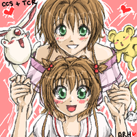CLAMP--Sakura Sakura :D by ramhay