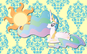 Princess Celestia wall paper5 by AliceHumanSacrifice0