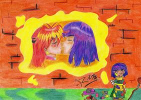 Lina adn Xelloss love by arinadream