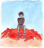 Cancer -- The Crab by Zalein