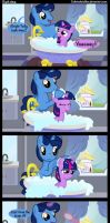 Bath time. by Coltsteelstallion