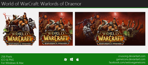 WoW: Warloards of Draenor - Icon by Crussong