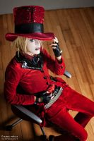Ruki cosplay (cockroach vrs.) 2 by gabybriefs93
