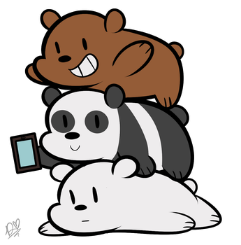 bear bros by DuckyDeathly