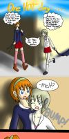 One HOT day... P.1 by DoodleDowd